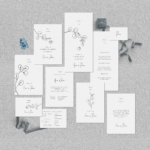 """Hochzeitspapeterie Set """"Lucca"""" - JULISA"""
