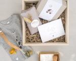 Geschenke zur Geburt - Hooray a Baby Geschenkbox | hey-julisa.com